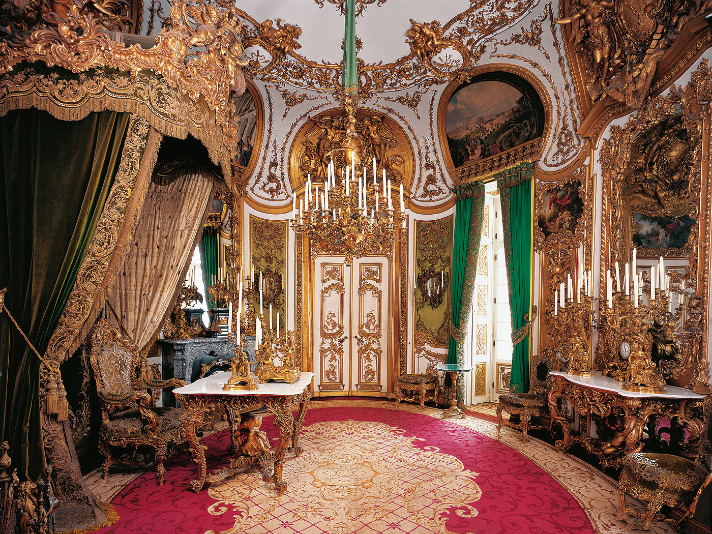 Related  &  For Linderhof Palace #10613B 1400 1050 Sala Da Pranzo Buckingham Palace
