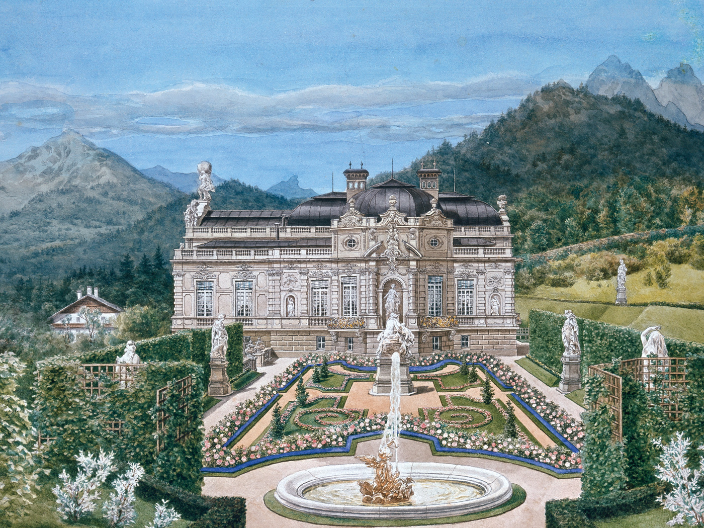 Bavarian Palace Department | Linderhof Palace and Park | Palace | Tour