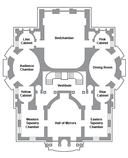 Picture: Plan of the main floor